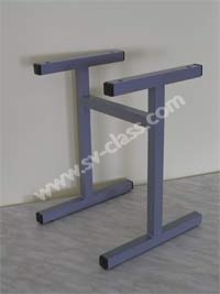 Metal framework of the stool