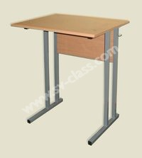 Pupil's one-seater table