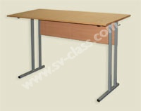 Pupil's two-seater table