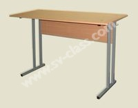 Pupil's two-seater table (plastic)