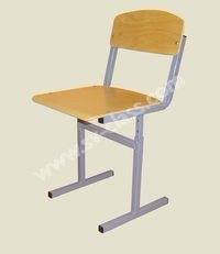 Pupil's chair with adjustable height